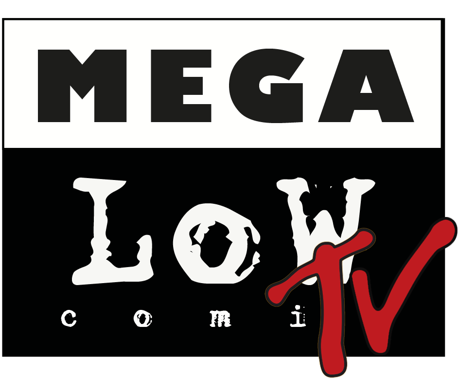 le logo mega low tv
