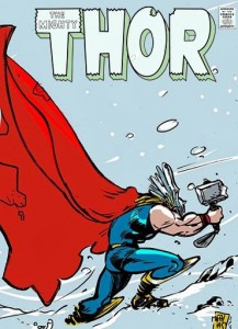 Mighty Thor pin-up (Marvel TM)